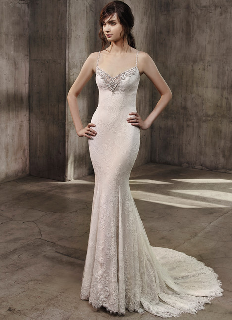 Andrea Wedding                                          dress by Badgley Mischka Bride
