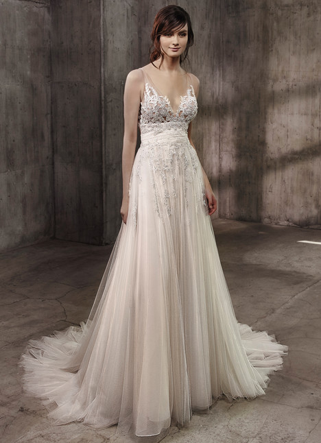 Ashley Wedding                                          dress by Badgley Mischka Bride