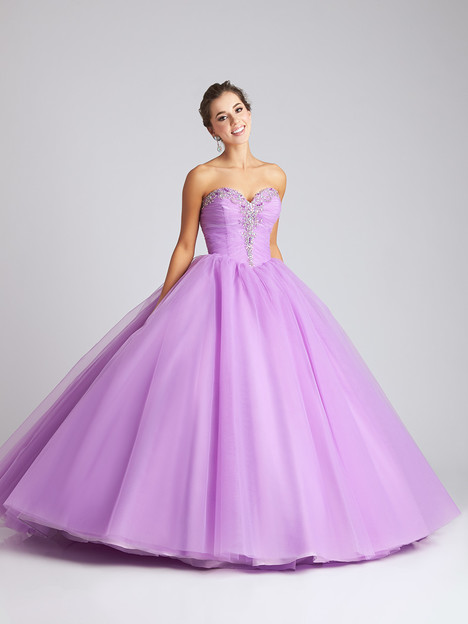 Q537 (lilac) Prom                                             dress by Allure : Quinceanera