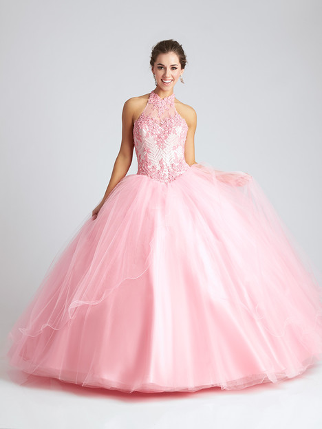 Q542 (blush) Prom                                             dress by Allure : Quinceanera