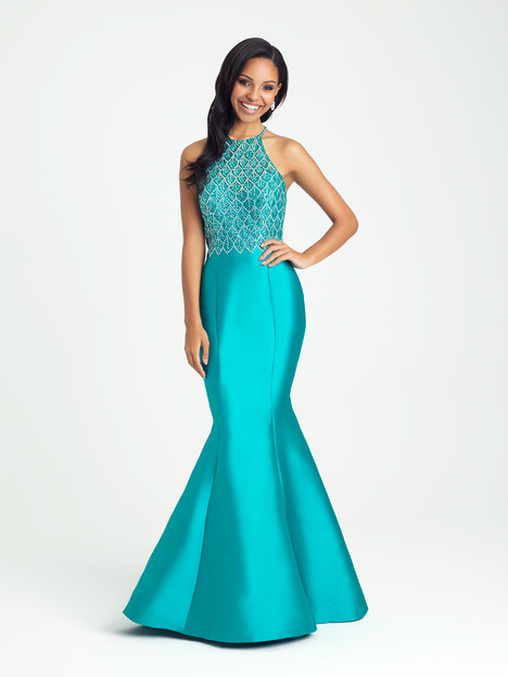 16-301 (turquoise) gown from the 2016 Madison James Special Occasion collection, as seen on dressfinder.ca