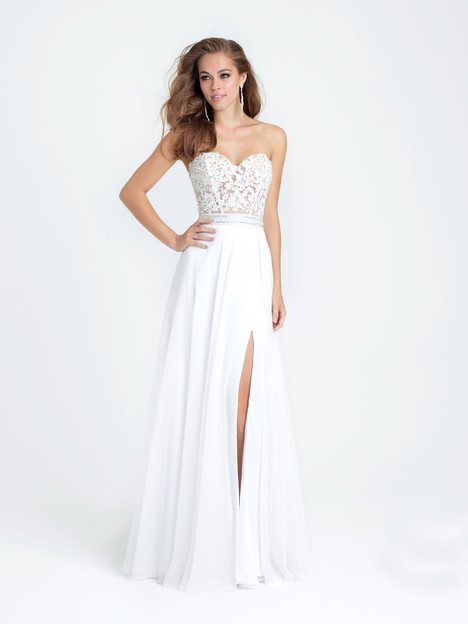 16-309 (ivory) Prom                                             dress by Madison James : Prom