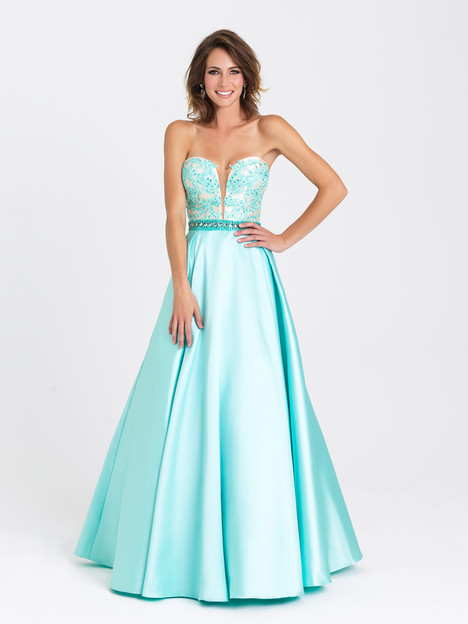 16-326 (aqua) Prom                                             dress by Madison James: Special Occasion