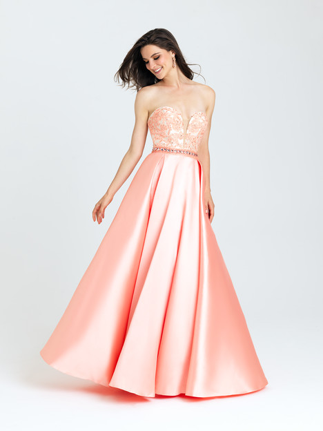 16-326 (coral) Prom                                             dress by Madison James: Special Occasion