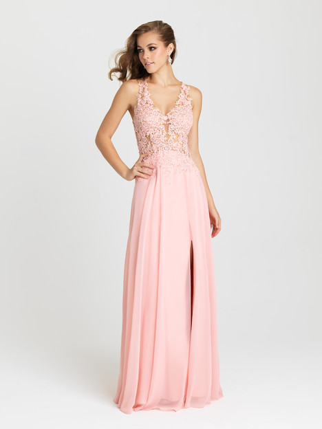 16-327 (blush) Prom                                             dress by Madison James : Prom