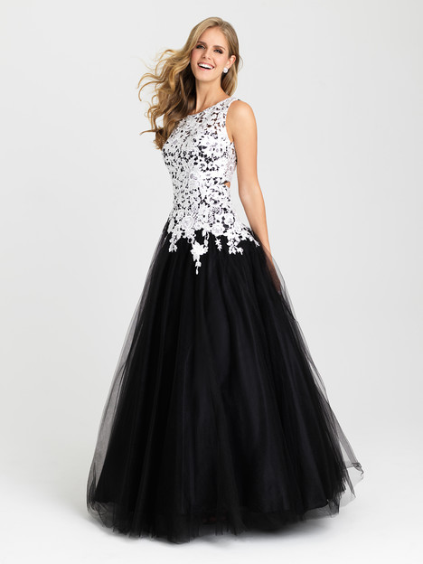 16-342 (black) Prom                                             dress by Madison James: Special Occasion