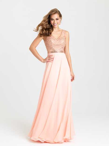 16-344 (peach) Prom                                             dress by Madison James : Prom