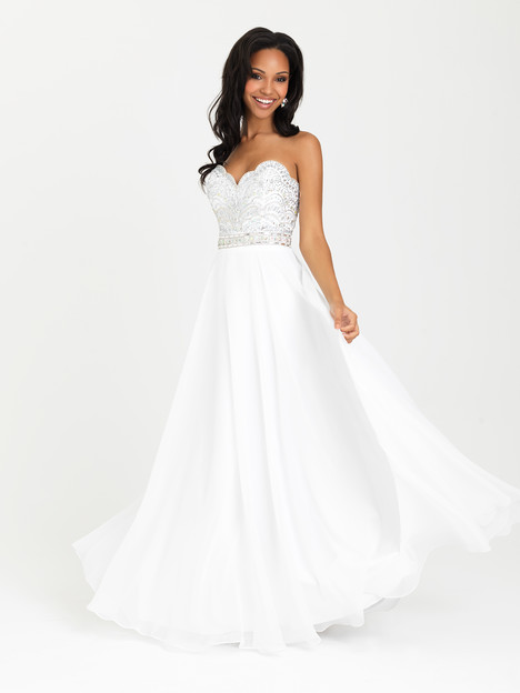 16-394 (white) Prom                                             dress by Madison James : Prom
