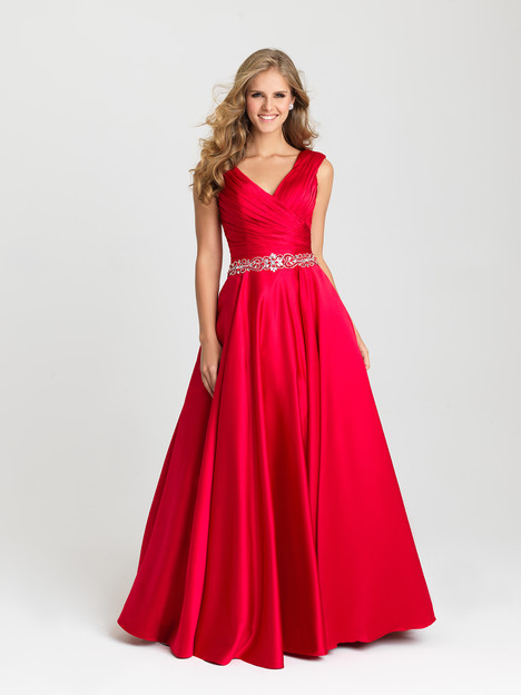 16-419 (red) Prom                                             dress by Madison James: Special Occasion