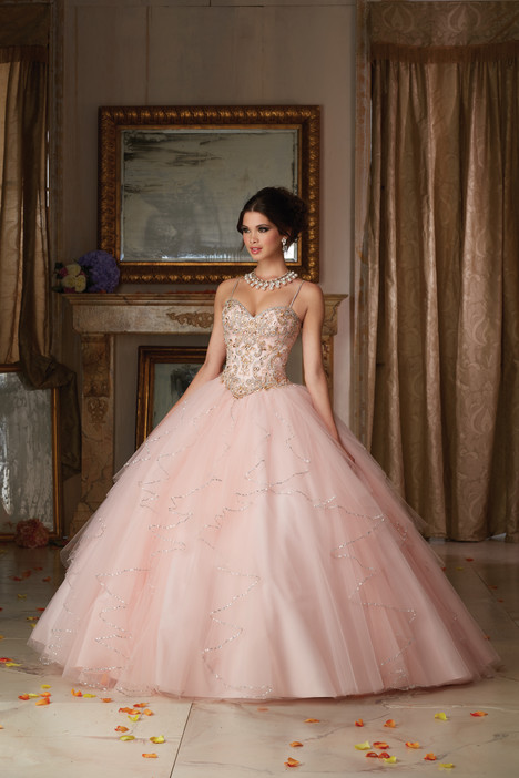 89101 (light pink) Prom                                             dress by Morilee Vizcaya