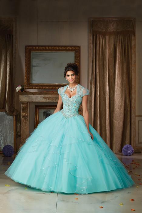 89101 (+ jacket) (light blue) Prom                                             dress by Mori Lee : Vizcaya