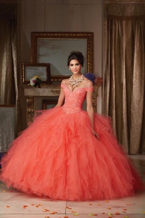 89102 (peach) Prom                                             dress by Mori Lee : Vizcaya
