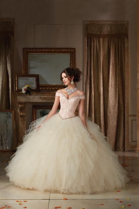 89102 (champagne & blush) Prom                                             dress by Mori Lee : Vizcaya