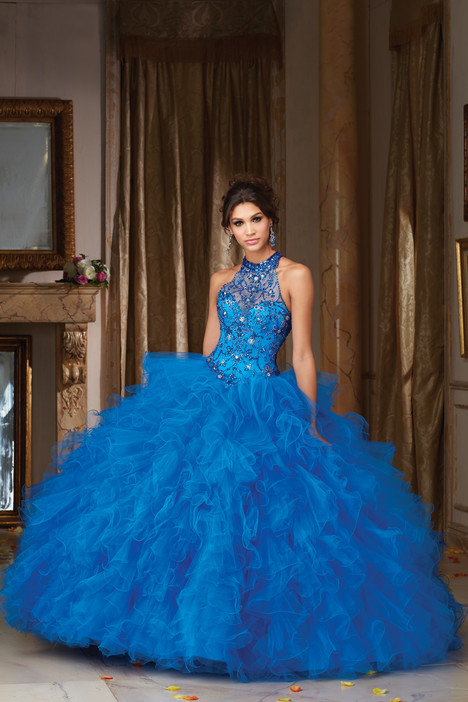 89103 (cobalt) Prom                                             dress by Mori Lee : Vizcaya