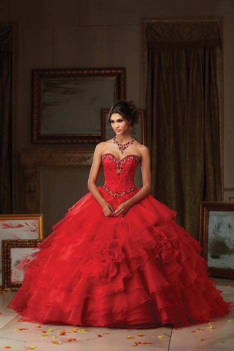 89105 (red) Prom dress by Morilee Vizcaya