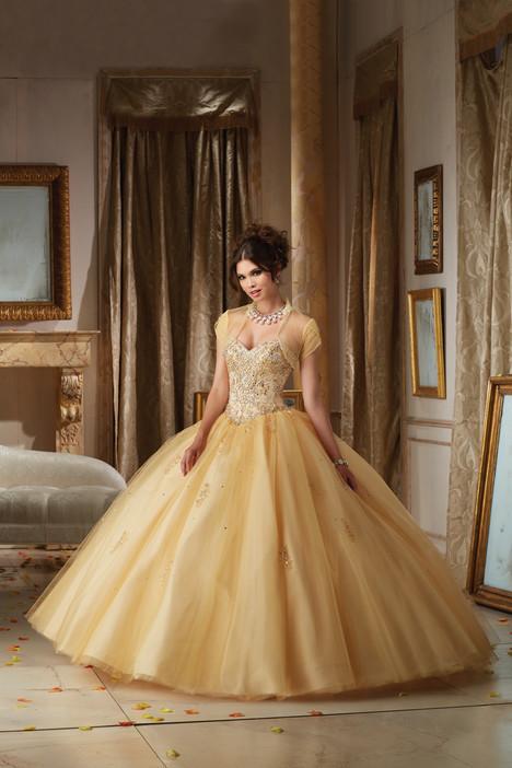 89109 (+ jacket) (gold) Prom dress by Morilee Vizcaya