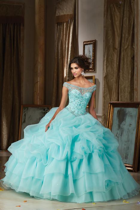 89110 (light acqua) Prom dress by Morilee Vizcaya