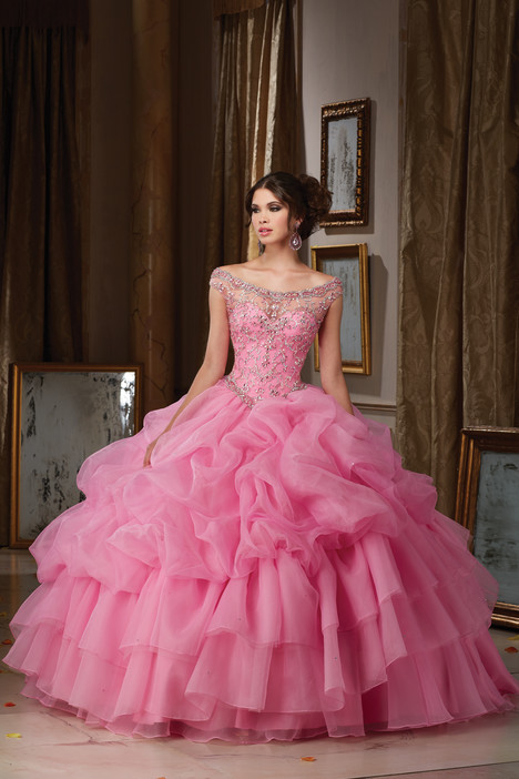 89110 (iced pink) Prom                                             dress by Morilee Vizcaya