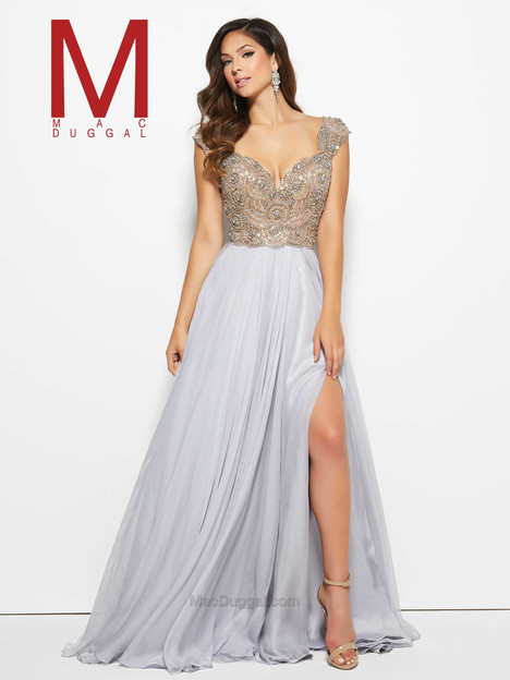 10081M (platinum) Prom dress by Mac Duggal Prom