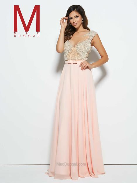 20046M (blush) Prom                                             dress by Mac Duggal Prom