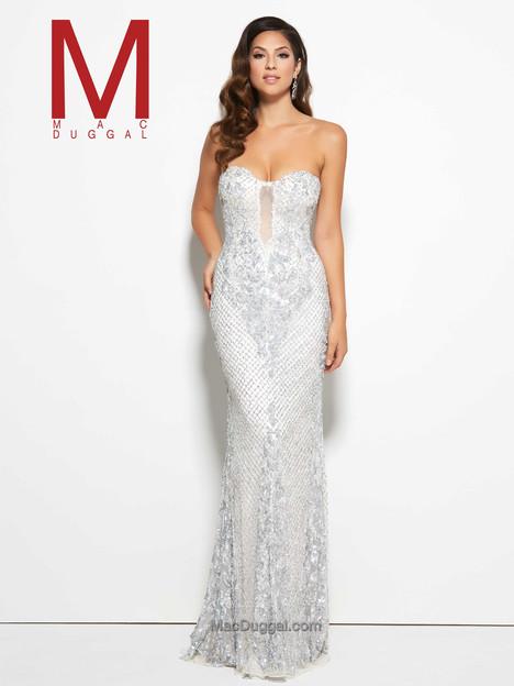 4328M (white diamond) Prom                                             dress by Mac Duggal Prom
