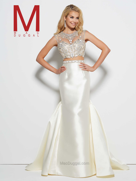 48359M (candlelight) Prom                                             dress by Mac Duggal Prom