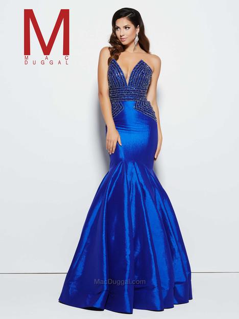 62248M (royal) Prom                                             dress by Mac Duggal Prom