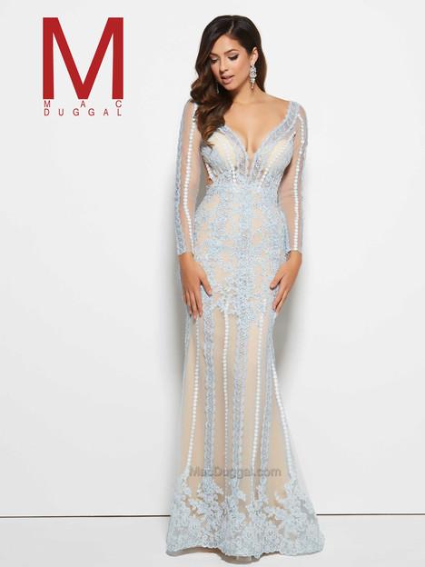 62506M (ice blue) Prom                                             dress by Mac Duggal Prom