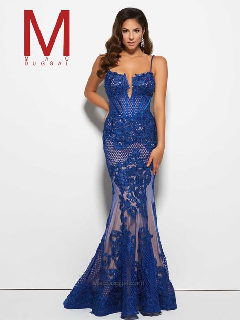 78999M (royal) Prom                                             dress by Mac Duggal Prom