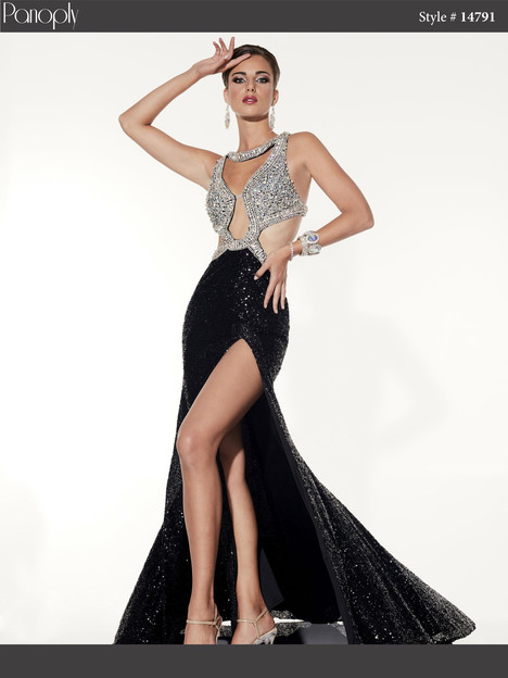 14791 (black) Prom                                             dress by Panoply