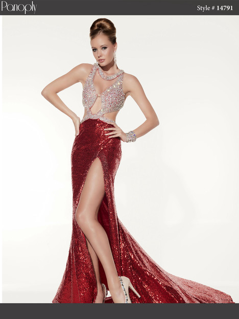 14791 (red) Prom                                             dress by Panoply