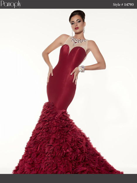 14793 (red) Prom                                             dress by Panoply
