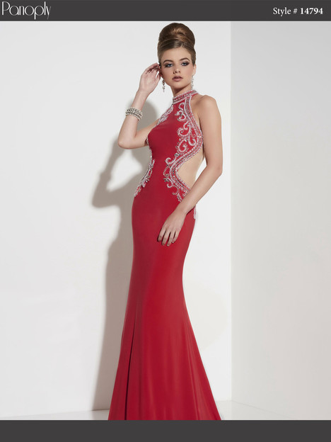 14794 (red) Prom                                             dress by Panoply