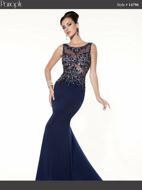 14796 (navy) Prom                                             dress by Panoply