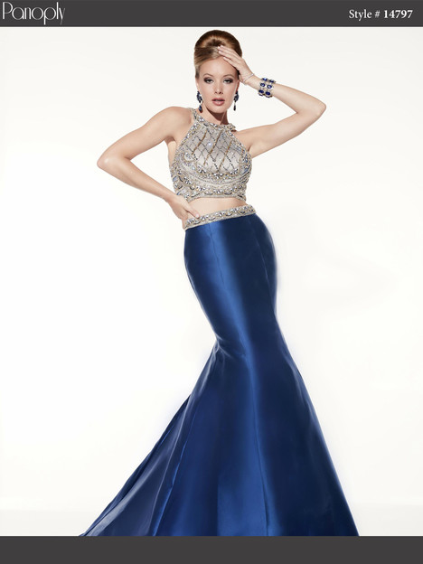 14797 (navy) Prom                                             dress by Panoply