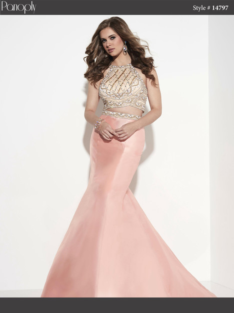 14797 (blush) Prom                                             dress by Panoply