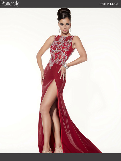 14798 (ruby red) Prom                                             dress by Panoply