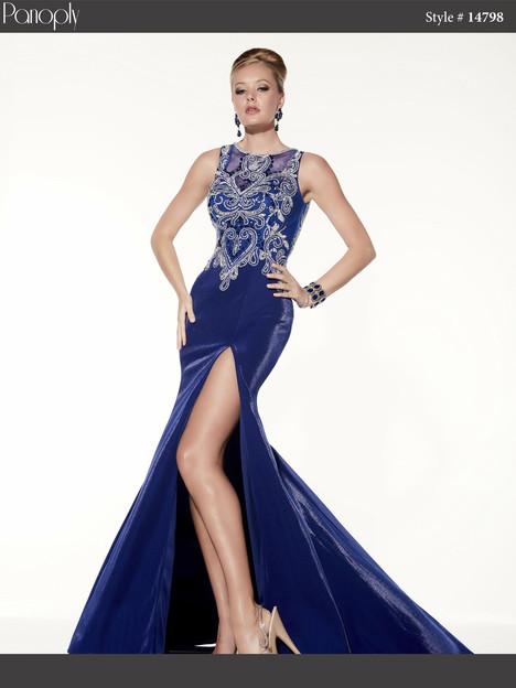 14798 (sapphire) Prom                                             dress by Panoply