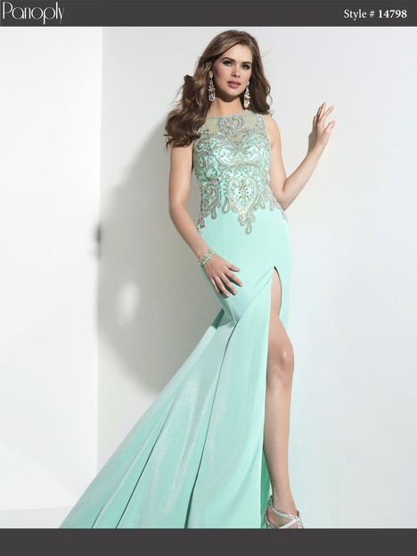14798 (mint) Prom                                             dress by Panoply