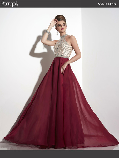 14799 (wine) Prom                                             dress by Panoply