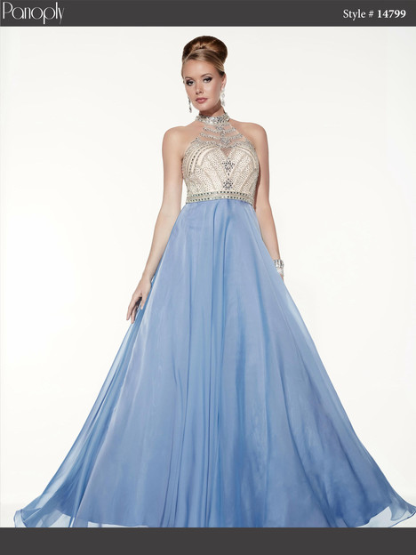14799 (periwinkle) Prom                                             dress by Panoply