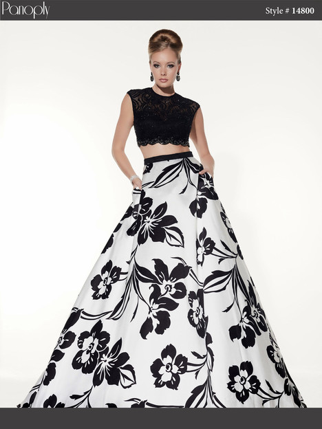 14800 (white & black) Prom                                             dress by Panoply