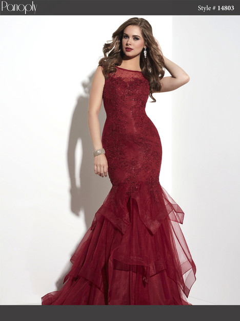 14803 (claret) Prom                                             dress by Panoply