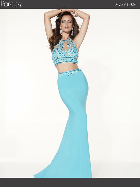 14804 (turquoise) Prom                                             dress by Panoply