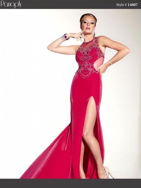 14807 (fuchsia) Prom                                             dress by Panoply