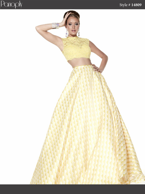 14809 (sunshine yellow) Prom                                             dress by Panoply