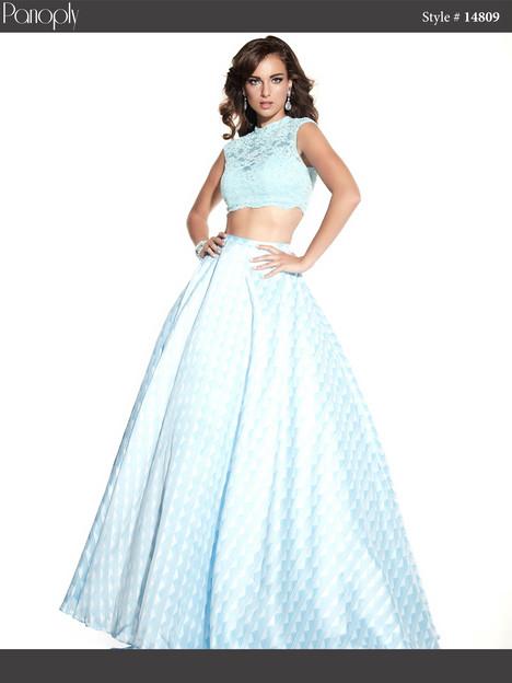 14809 (sky blue) Prom                                             dress by Panoply