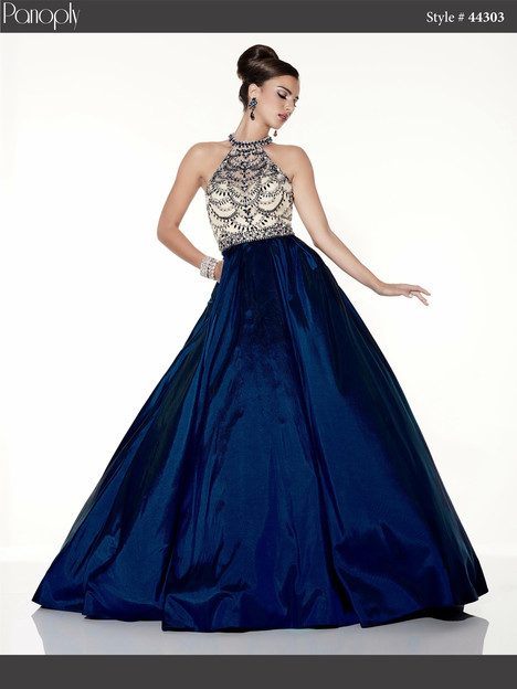 44303 (navy) Prom                                             dress by Panoply