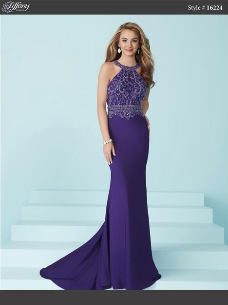 16224 (purple) Prom dress by Tiffany Designs