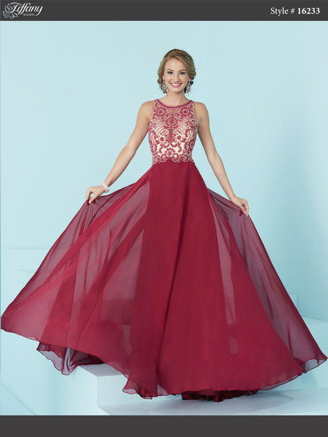 16233 (sangria) Prom                                             dress by Tiffany Designs